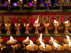temple aug2016 butter lamps Shanti photo-5 copy