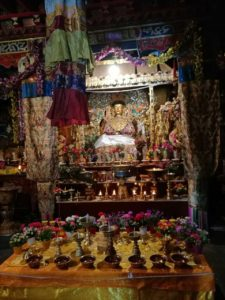 temple aug2016 butter lamps altar photo-3 copy